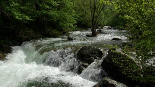 Реката при село Дълги дел