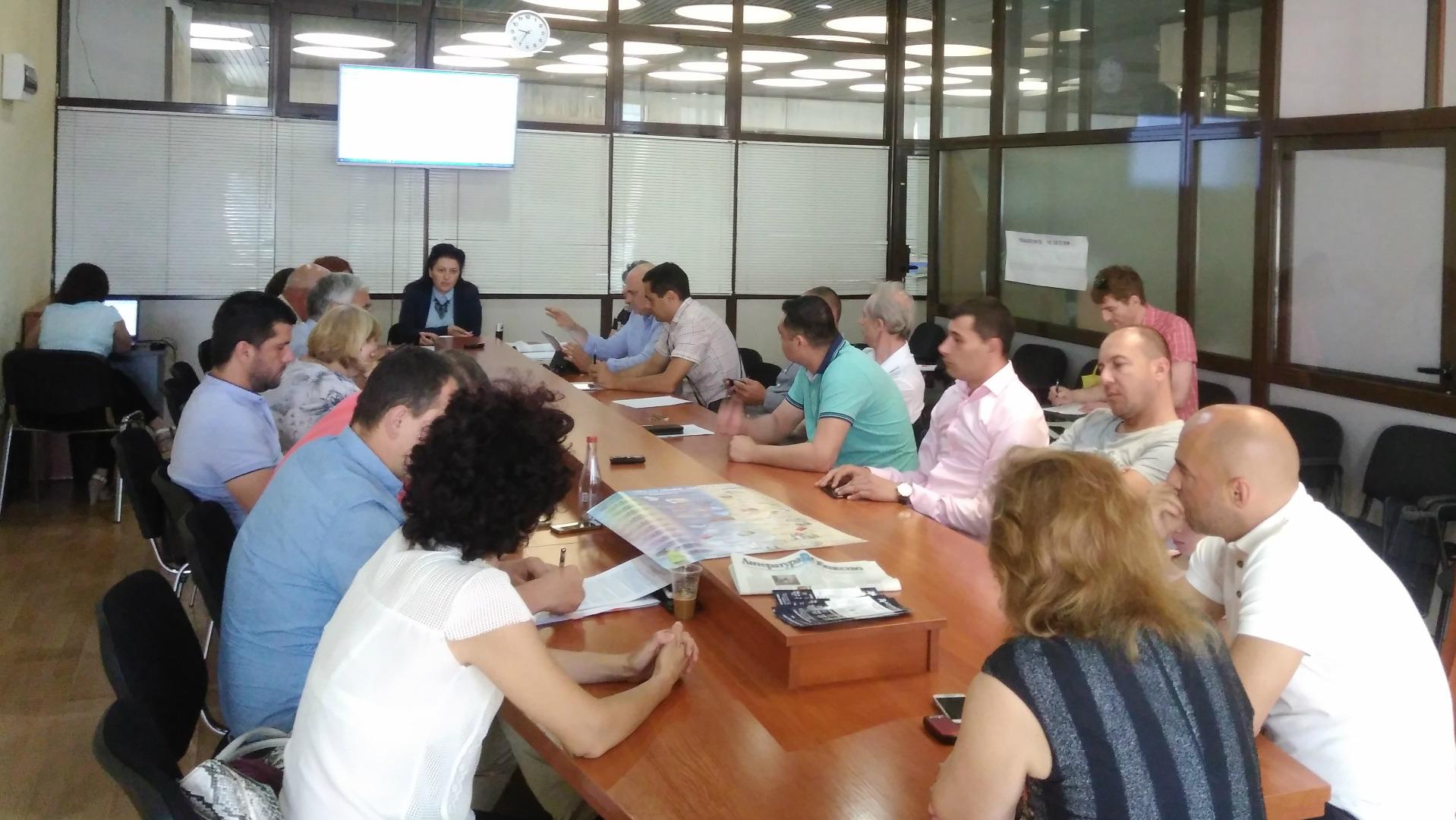 Комисията по време на днешното заседание