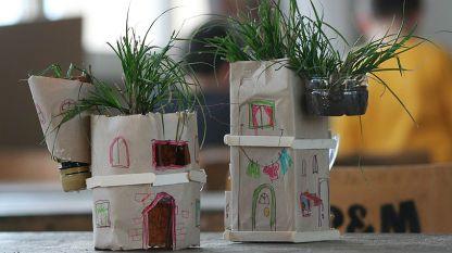 Зелена архитектура - Покрив-градина