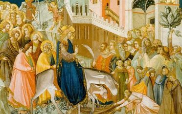 Entry into Jerusalem by Pietro Lorenzetti