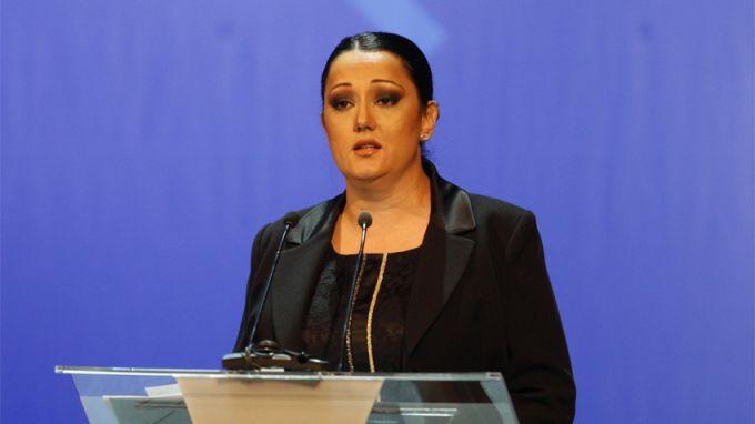 Lilyana Pavlova receives prize for Bulgaria at Vienna