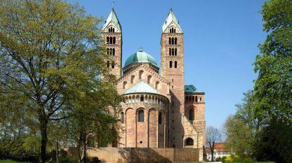 Катедралата Шпеер в Аахен, Германия.