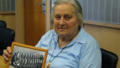 """Роза Цветкова в студиото на програма """"Хоризонт"""" по повод 80-годишнината й."""