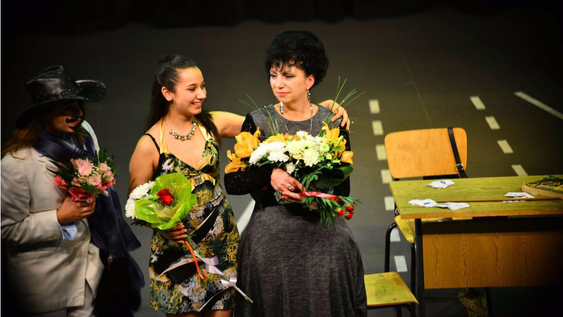 Маргарита Илиева - ръководител на Училщиния театър
