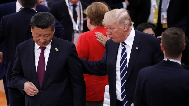 Си Цзинпин и Доналд Тръмп