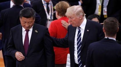Си Цзинпин и Доналд Тръмп в Хамбург