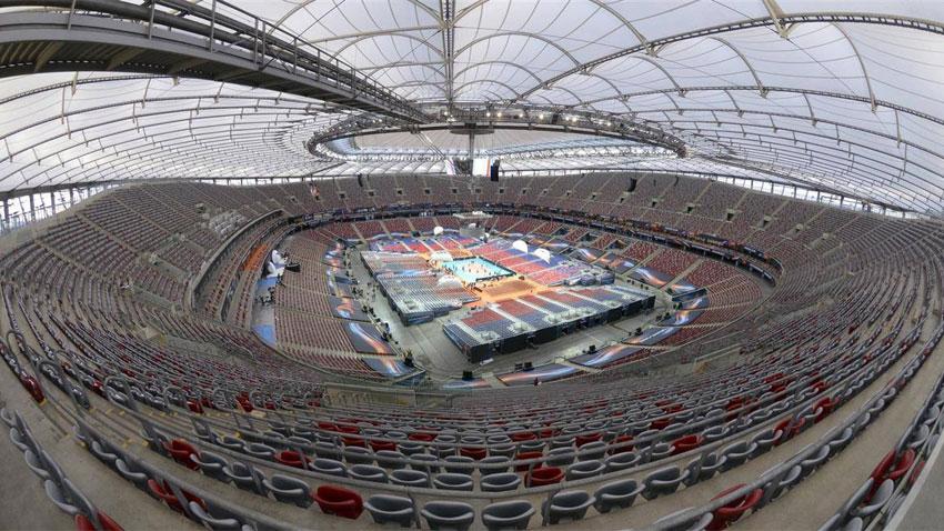 Националният стадион във Варшава