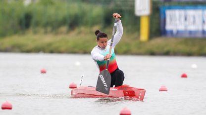Станилия Стаменова със сребро на 200 едноместно кану в Москва