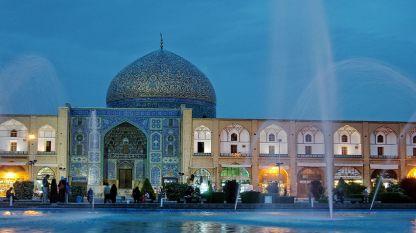 Джамията Шейх Лофт Аллах в Исфахан