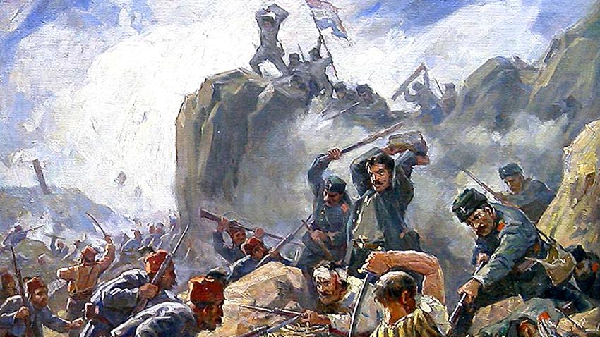 """""""Beteja për Shipkën"""" – piktor Dimitër Gjuxhenov"""