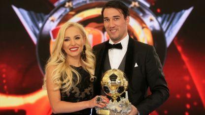 Ивелин Попов неговата съпруга Елена Паришева