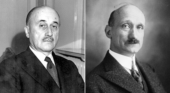 Jean Monnet et Robert Schuman  /  Photo:  wikipedia.org