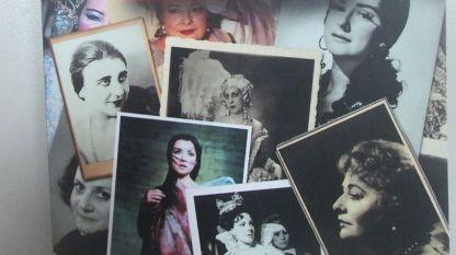 """Част от корицата на книгата """"Великите сопрани на България"""" от Марин Бончев"""