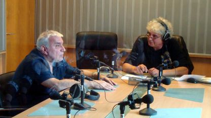 Стефан Димитров (вляво) и Асен Масларски