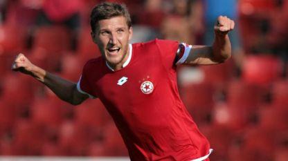 Преслав Йорданов игра за ЦСКА София, сега ще бележи голове за Септември
