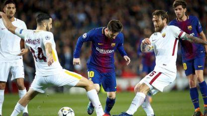 Меси беше опазен от футболистите на