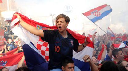Половин милион фенове празнуваха с хърватите