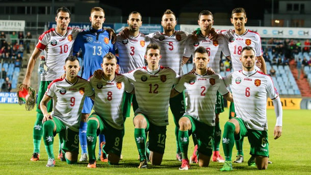 Selecci'on de f'utbol de Bulgaria