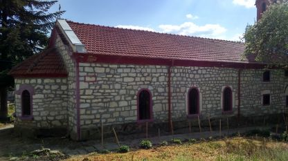 Черквата в село Осмар
