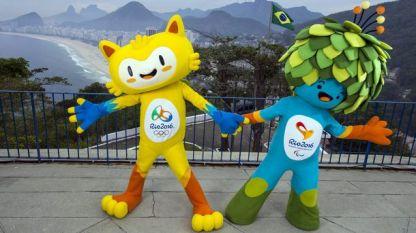 Талисманите на Игрите в Рио де Жанейро
