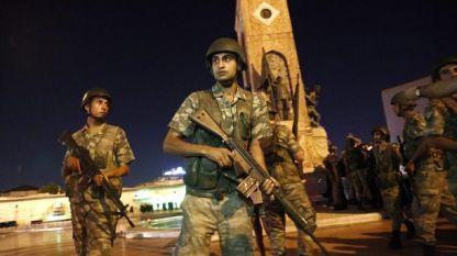 Опит за преврат бе извършен в Турция в нощта на 15 срещу 16 юли 2016 г.