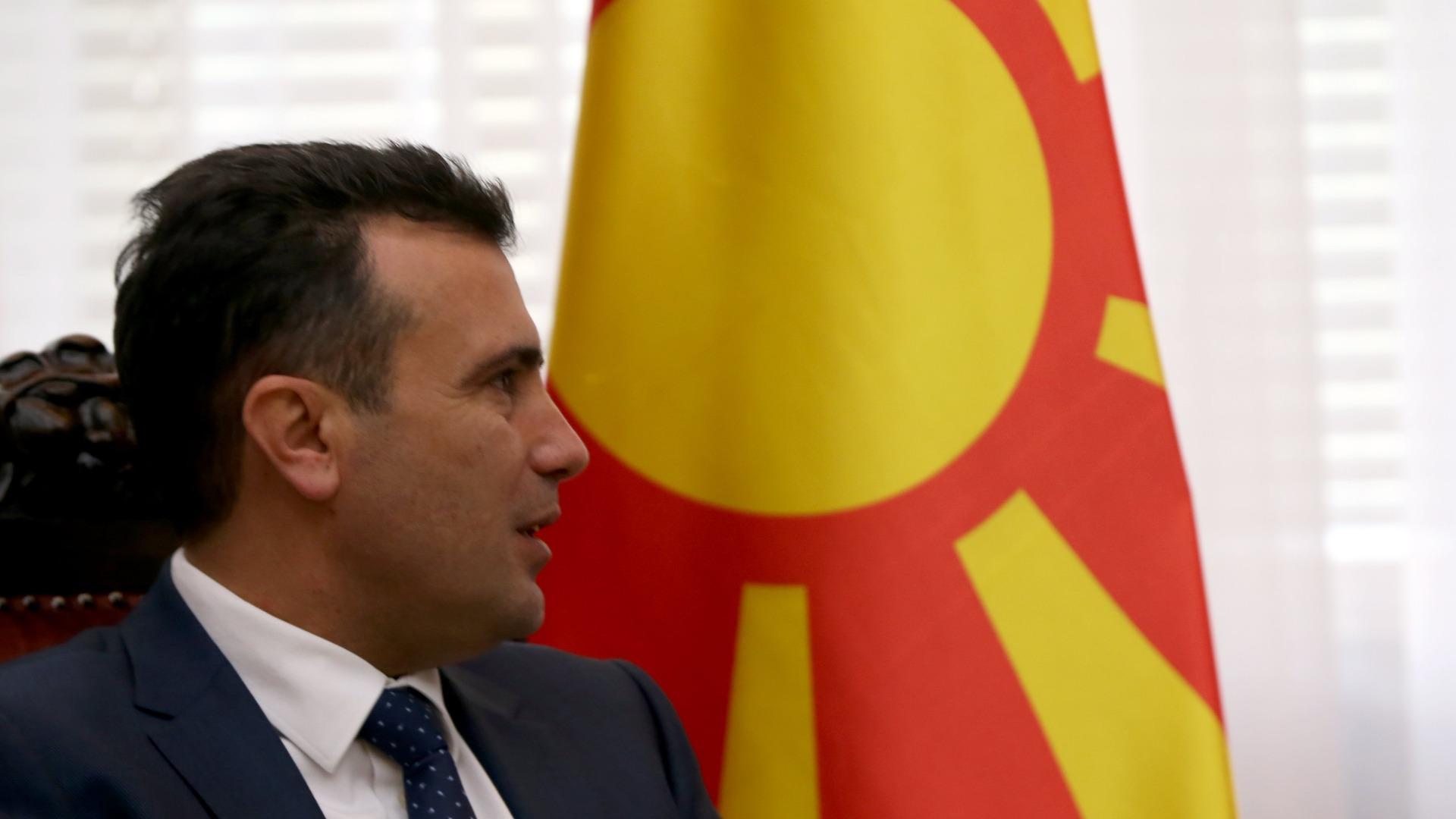 Mакедонският премиер Зоран Заев