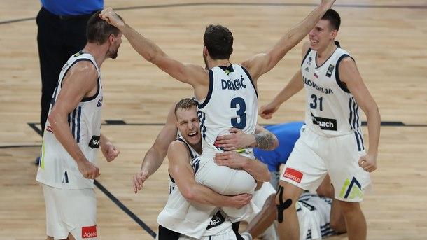 Словения с първа евротитла на баскетбол