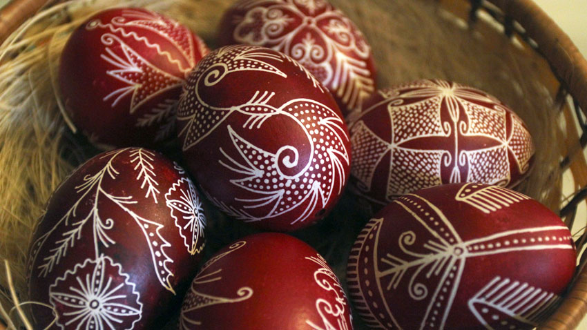 Расписные яйца на Пасху – животворное наследие Велинграда