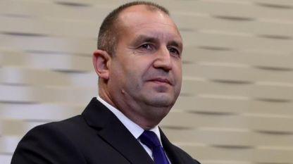 Presidenti bullgar Rumen Radev