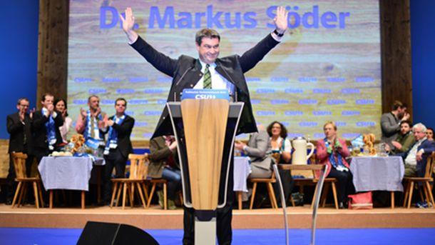 В сряда финансовият министър на германската провинция Бавария, Маркус Сьодер