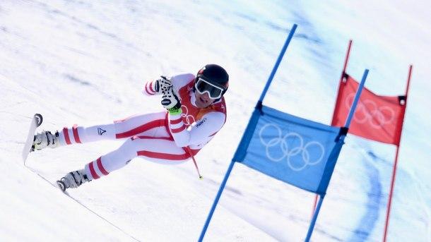 Матиас Майер спечели олимпийската титла в супергигантския слалом при мъжете.