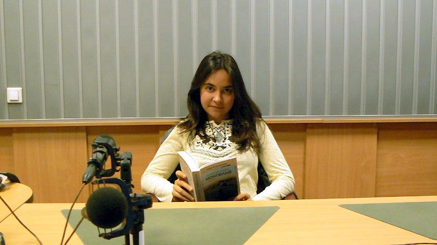 """Петя Димитрова, авторката на """"Да обичаш дивото, Монголия"""""""