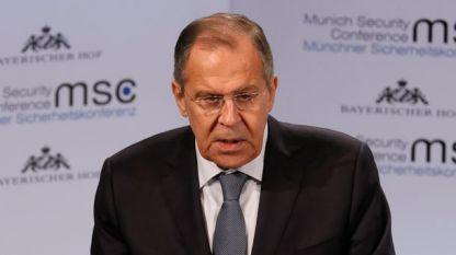 Сергей Лавров, руски външен министър