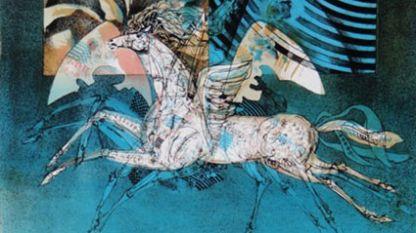 Фрагмент от картина на Любомир Йорданов