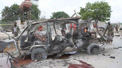 Терористите взривили кола-бомба на входа на хотела, след което щурмували сградата.