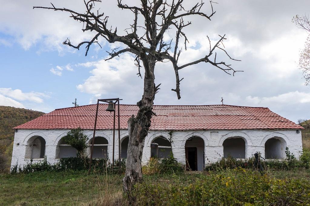 Църквата в най-българското село Връбник. Снимка: Фондация Българска памет