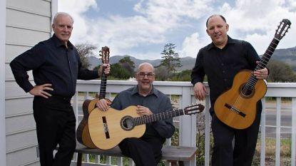 """""""Trio Camino"""" -  Дейвид Граймс, Грегъри Нютън и Майкъл Нигро, 2016 г."""