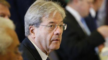 Паоло Джентилони, еврокомисар по икономика