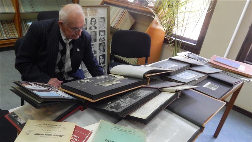 Петко Кичашки в Държавен архив Видин
