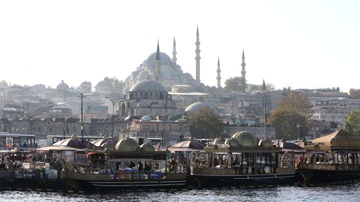 Изглед към Истанбул
