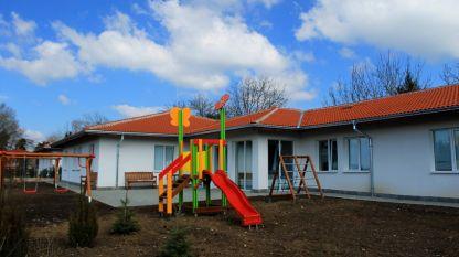 Новите къщички на центровете за настаняване от семеен тип в Комплекса за социални услуги – град Павликени.