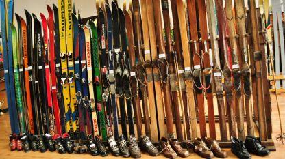 Музеят на ските проследява развитието на снежните спортове от 30-те години на XX век до наши дни