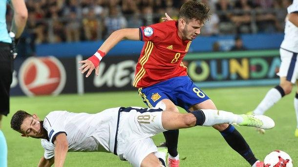 Испания победи Италия с 3:1 на полуфиналите на европейското първенство по футбол за младежи