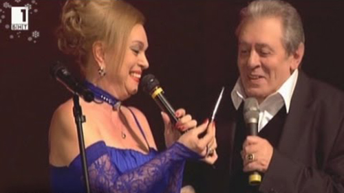 Михаил Белчев и Искра Радева