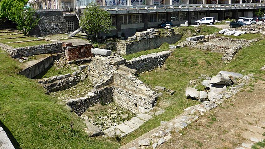 Римския форум в Пловдив