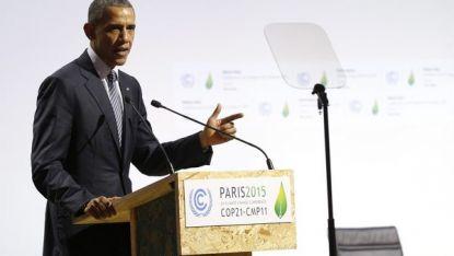 Барак Обама на конференцията за климата в Париж