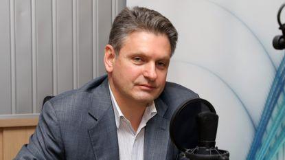 Николай Малинов в студиото на