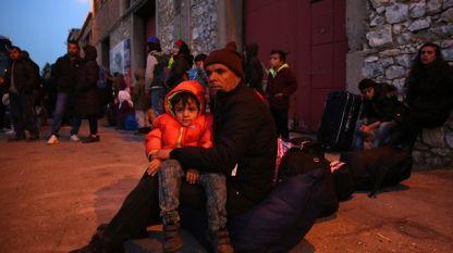 Бежанци в Гърция