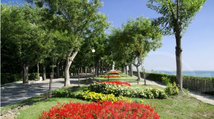 Burgas seaside park