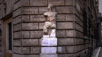 """Статуята """"Паскуино"""", Рим"""